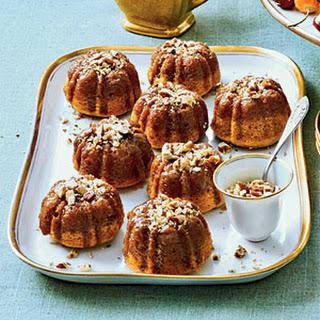 Rum-Glazed Sweet Potato Cakes