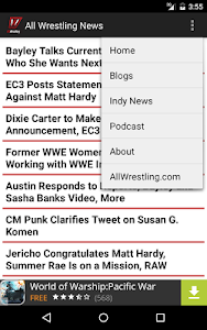 All Wrestling - News screenshot 5