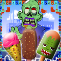 Zombies Ice Cream Factory Chef icon