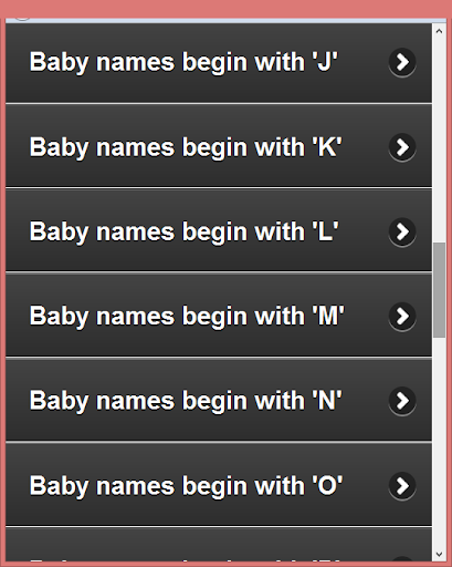 Muslim Child  Names (A-Z) 1.0 screenshots 10