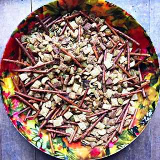 Curried Cashew Snack Mix.