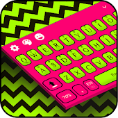 Fluorescent Vibrant Keyboard Theme