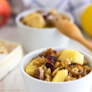 Apple & Cranberry Porridge