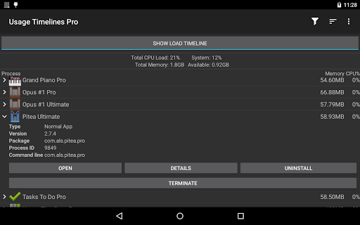 玩工具App|Usage Timelines Pro免費|APP試玩