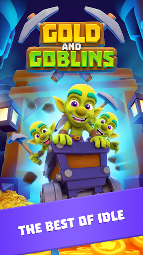 Gold and Goblins: Idle Miner screenshot 1