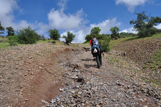Photo: J02 : Sur le chemin de Targa n'Touchka