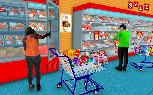 Supermarket Grocery Shopping Mall Family Game 1.5 screenshots 12