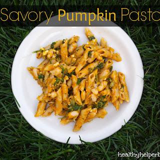 Savory Pumpkin Pasta