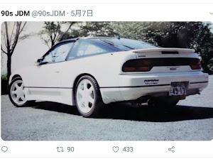 180SX RS13 タイプⅡ 1989のカスタム事例画像 るなちゃんねるさんの2018年06月14日22:55の投稿