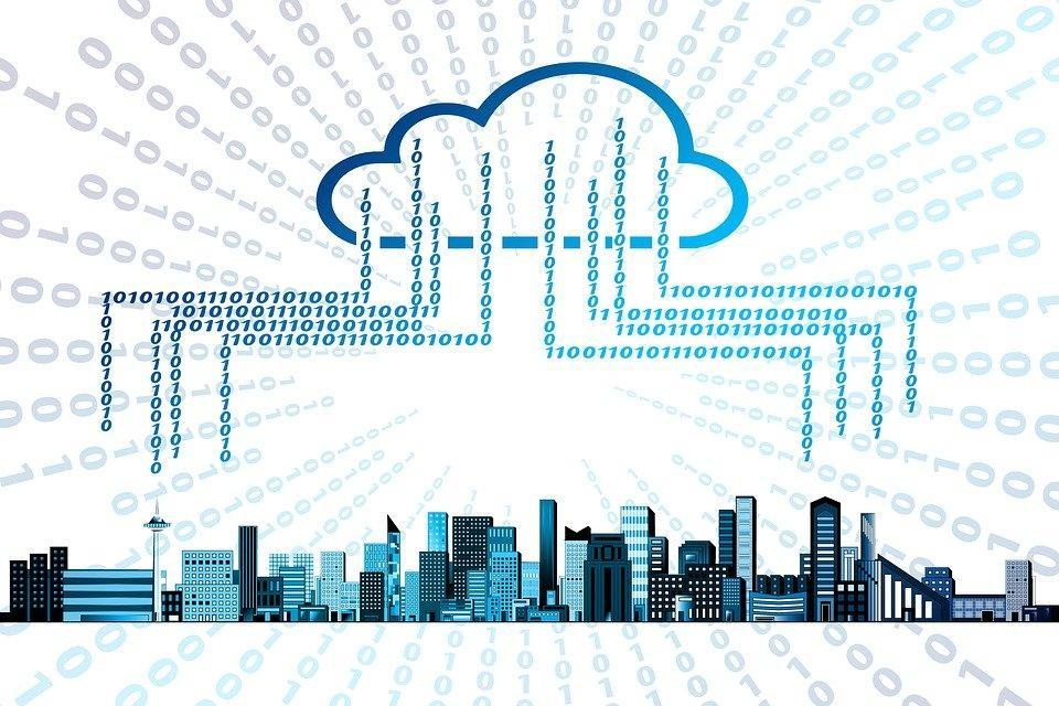 Cloud, Memory, Storage Medium, Smarthome, City, Skyline