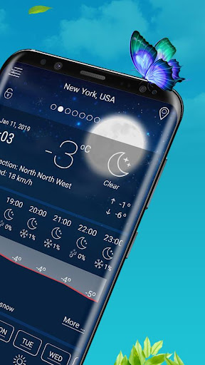 Live Weather - Weather Forecast Apps 2019 1.1.6 screenshots 2