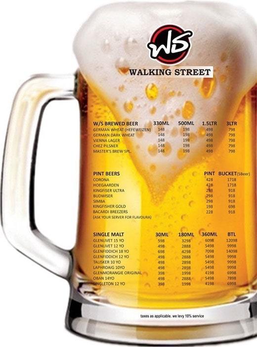 Walking Street menu 8