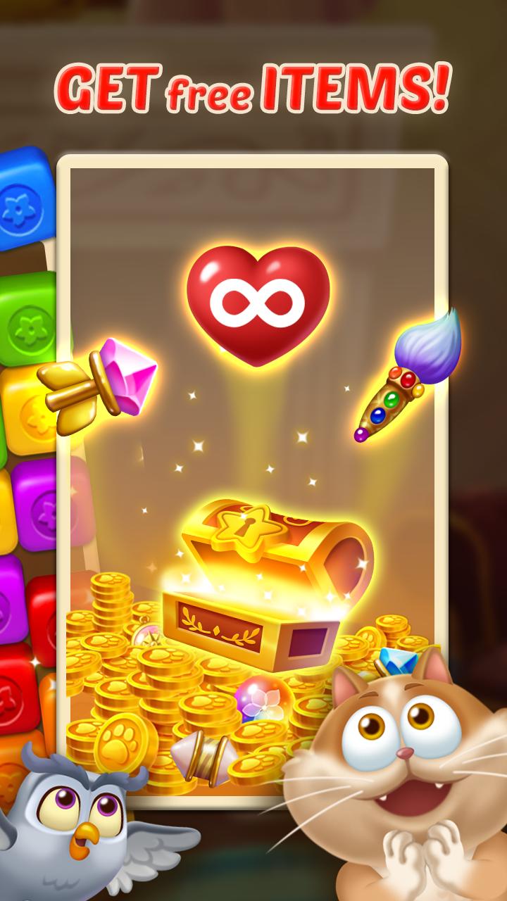 Gem Blast: Magic Match Puzzle Screenshot 2