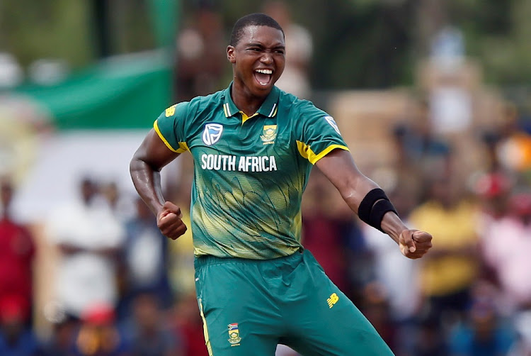 Lungi Ngidi. Picture: REUTERS/
