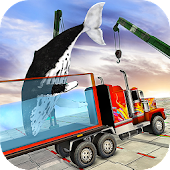 Impossible Whale Transport Truck Driving Tracks