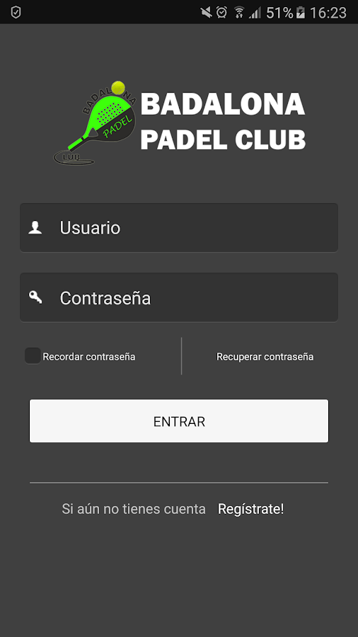 Badalona Padel Club- screenshot
