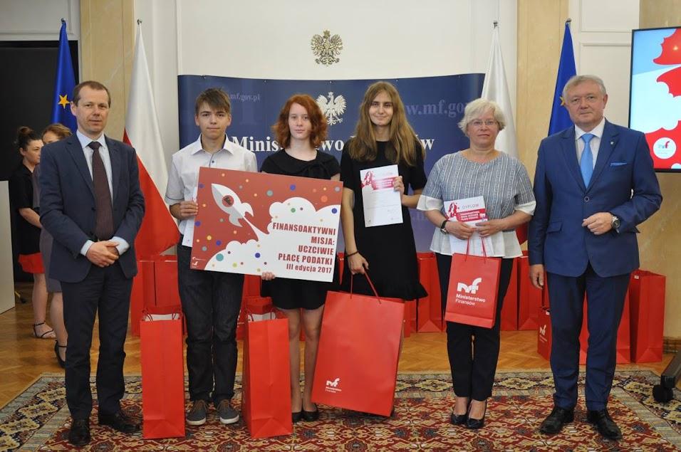 Finansoaktywni – sukces uczniów gimnazjum