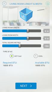 AC Capacity screenshot