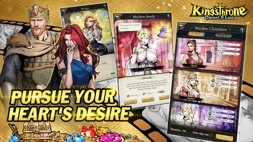 King's Throne: Game of Lust apkslow screenshots 2