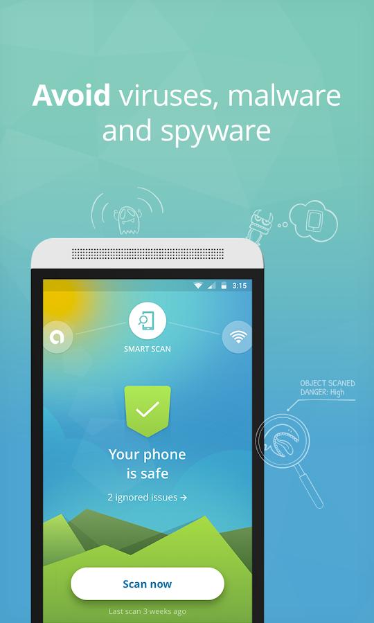 Avast Free Mobile Security   Антивирус для смартфонов и