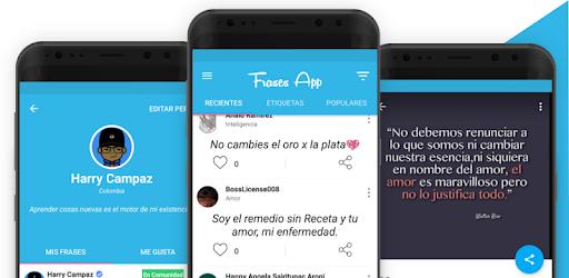Frasapp Frases Imágenes Amor Motivación Aplicaciones
