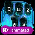 Blue Fire Animado icon