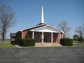 Photo: Tunnel Hill Community of Christ Church at Webb Town.
