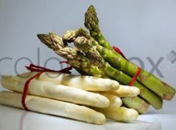 Green And White Asparagus Salad Recipe