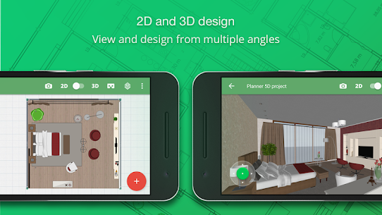 Planner 5D – Home & Interior Design Mod Apk (Unlocked All Items) 1.24.6 2