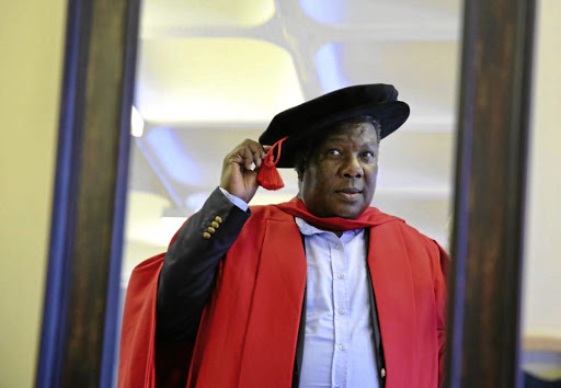 Vusi Mahlasela was capped at UKZN.