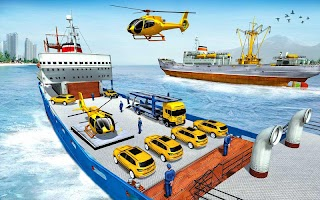 Taxi Car Transporter: Ship Simulator