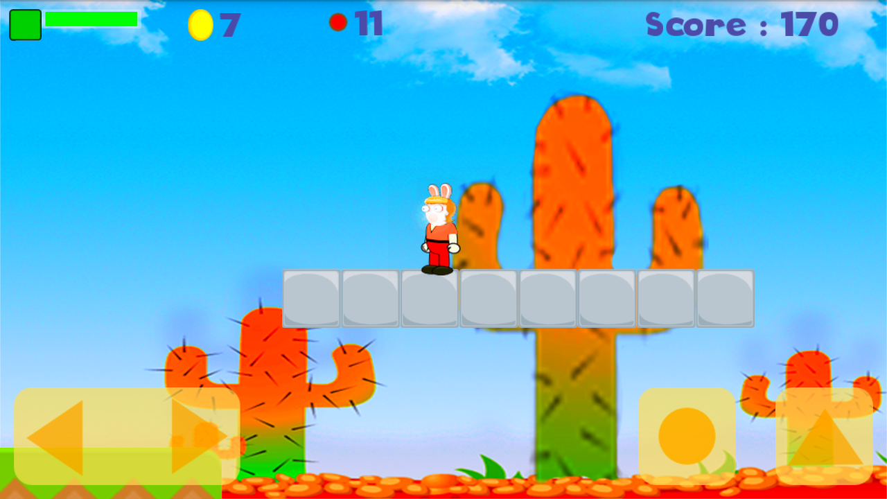 stupid strong rabbit- screenshot