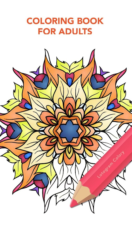 Colory: Free Adult Coloring- screenshot