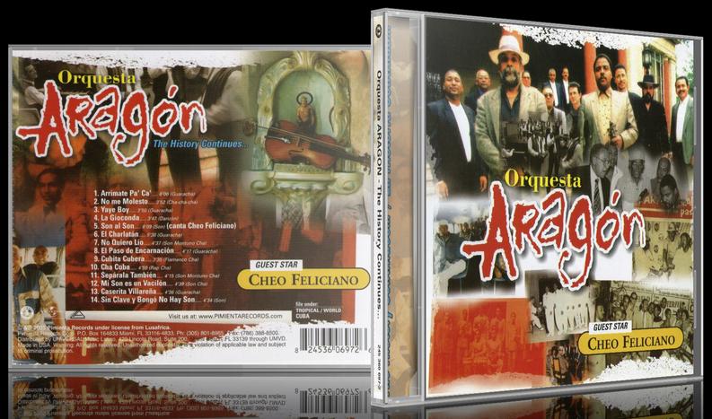 Orquesta Aragón - The History Continues... (2005) [MP3 @320 Kbps]