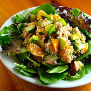 Paleo Citrus Crab Salad