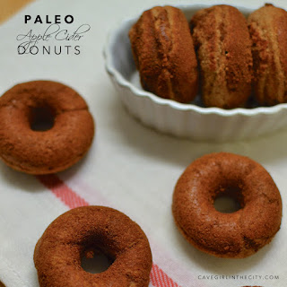 Paleo Apple Cider Donuts.