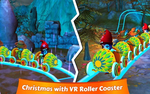 Immersive VR Roller Coaster- screenshot thumbnail