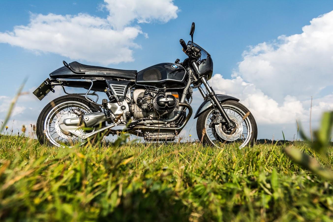Verstärkter Rahmen und Zentralfederbein bei BMW Motorrad R 100 R