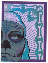 Photo: Wenchkin's Mail Art 366 - Day 227 - Card 227c