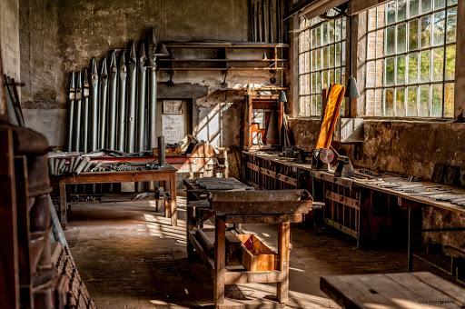 La manufacture d'orgues ©Bernard Pierre