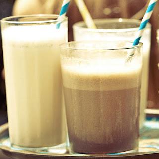 Boozy Chocolate Milkshakes