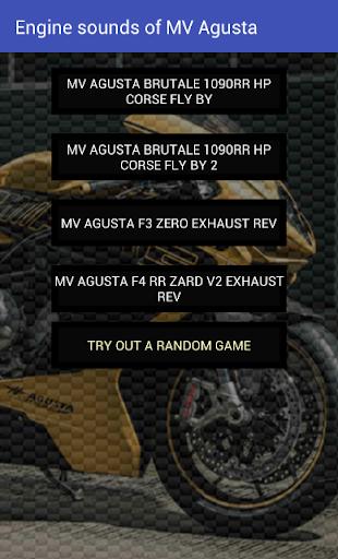 玩免費遊戲APP|下載Engine sounds of MV Agusta app不用錢|硬是要APP