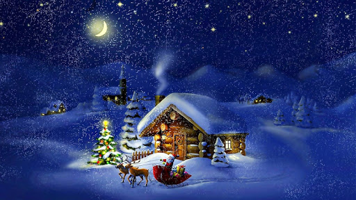download christmas night live wallpaper for pc