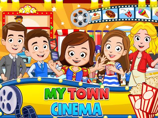 My Town : Cinema. Fun Movistar Kids Movie Night  screenshots 13