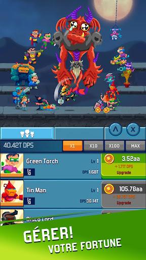 Tu00e9lu00e9charger Idle Hero Clicker Game: Jeu clicker de hu00e9ros APK MOD (Astuce) screenshots 2