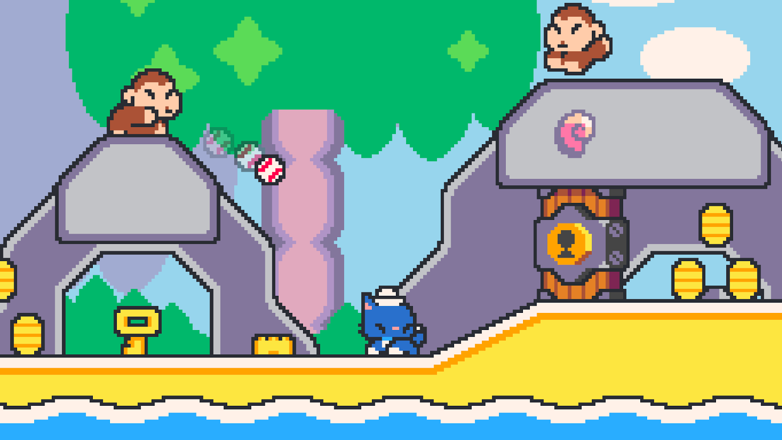 Super Cat Bros- screenshot