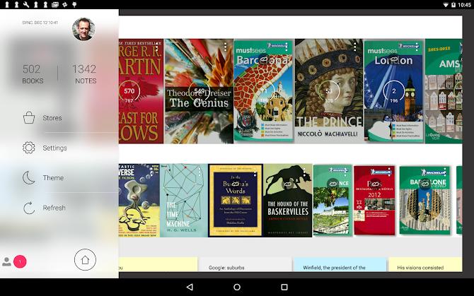 Bookari Ebook Reader Premium Android 9