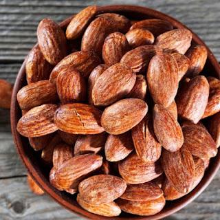 Smoked Almonds.