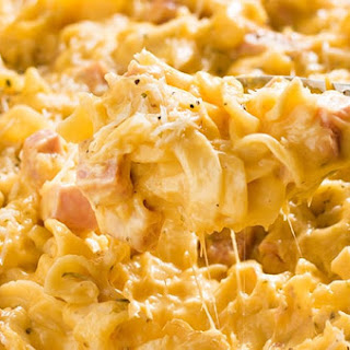 Ham and Noodle Casserole Recipe