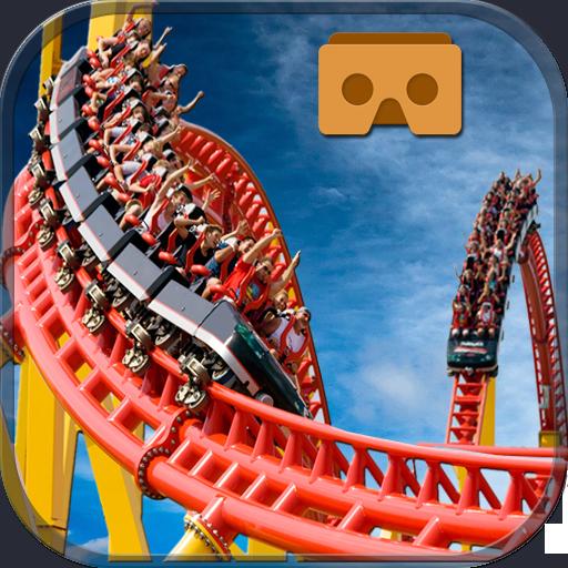 Simulate VR Roller Coaster Adventure : Theme Park (game)